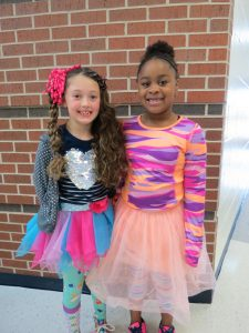 Students wear colorful outfits to celebrate Red Ribbon Week