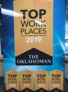 banner showing district listed as a top workplace