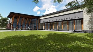 redbud elementary architectural rendering