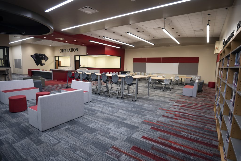 New Media Center at Cimarron Middle School